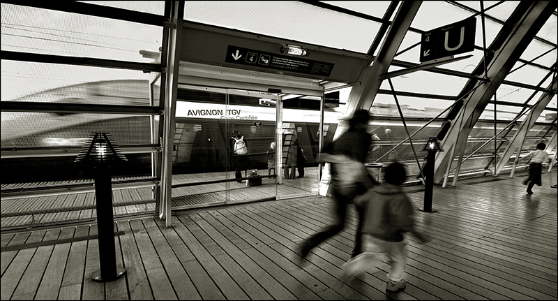 Gare paysage